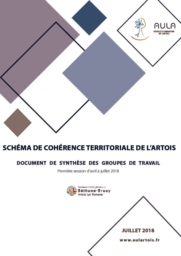 thumbnail of V4 Livret Synthèse SCoT Artois 1ère Session 03.07.18 final