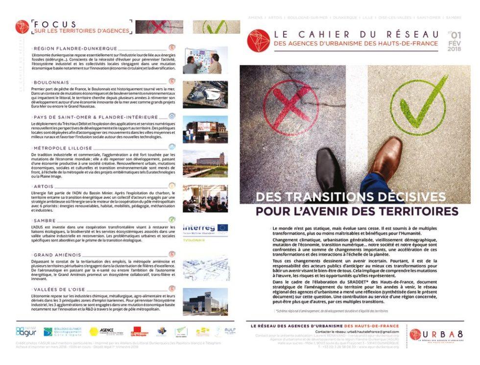 thumbnail of Cahier Reseau URBA8 N01 2018